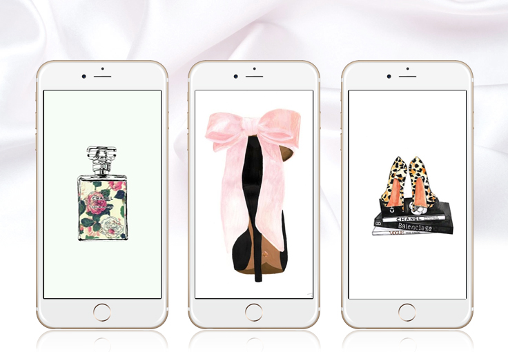 50+ iPhone Wallpapers for Fashionistas ★ Check them out at www.preppywallpapers.com or @prettywallpaper