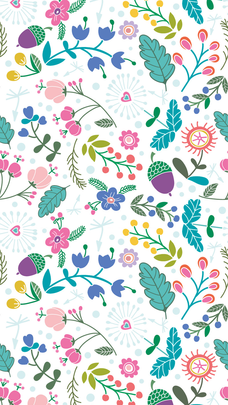 Spring-pattern-iphone-wallpaper