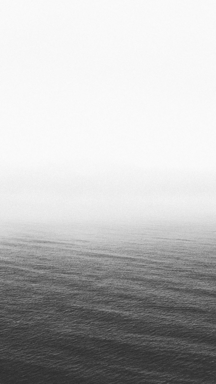 Foggy Sea ★ Preppy Original 31 Free HD iPhone 7 & 7 Plus Wallpapers