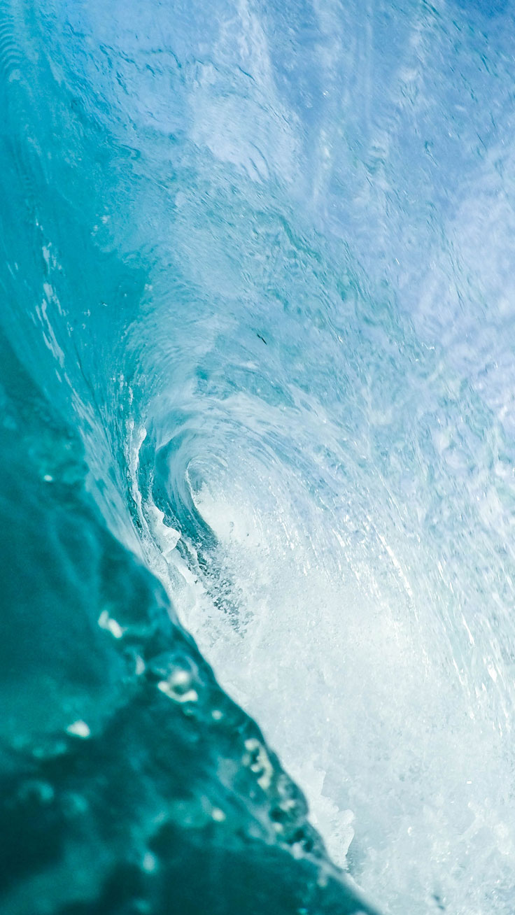 Blue Wave ★ Preppy Original 28 Free HD iPhone 7 & 7 Plus Wallpapers