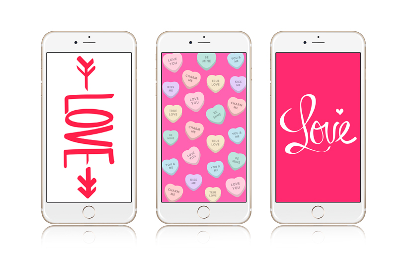 12 Super Cute Valentine\'s Day iPhone Wallpapers | Preppy Wallpapers