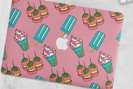 macbook ice-cream skin