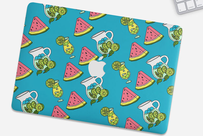 Receive an exclusive 20% discount! Use code THISISFADEDxPREPPY at checkout - MacBook Watermelon Skin