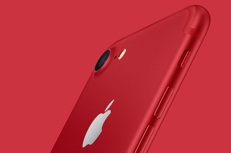 Apple Introduces IPhone 7 And Plus RED Special Edition