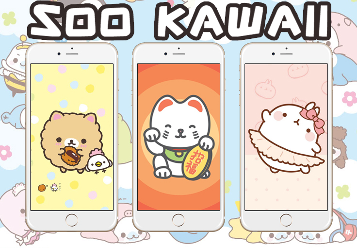 100 Kawaii Wallpapers For Your Iphone Or Android Preppy