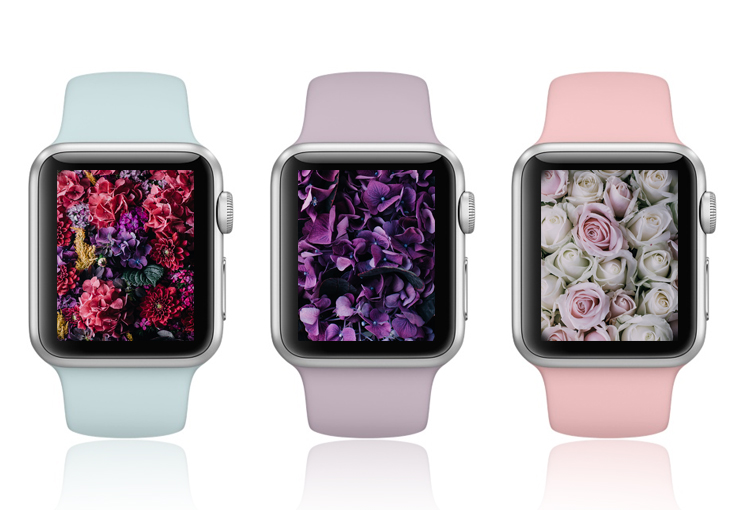 Vintage Floral Apple Watch Wallpapers Are Here