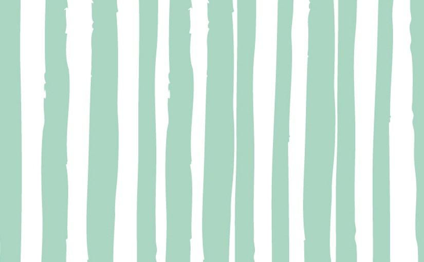 Preppy Original IPhone Wallpaper Mint Stripes