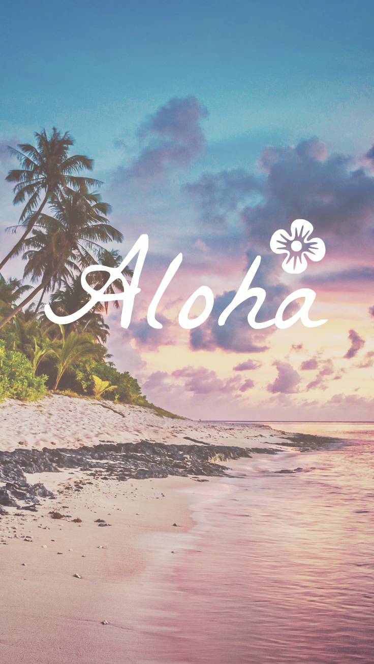 Preppy Original ★ Aloha iPhone Wallpaper