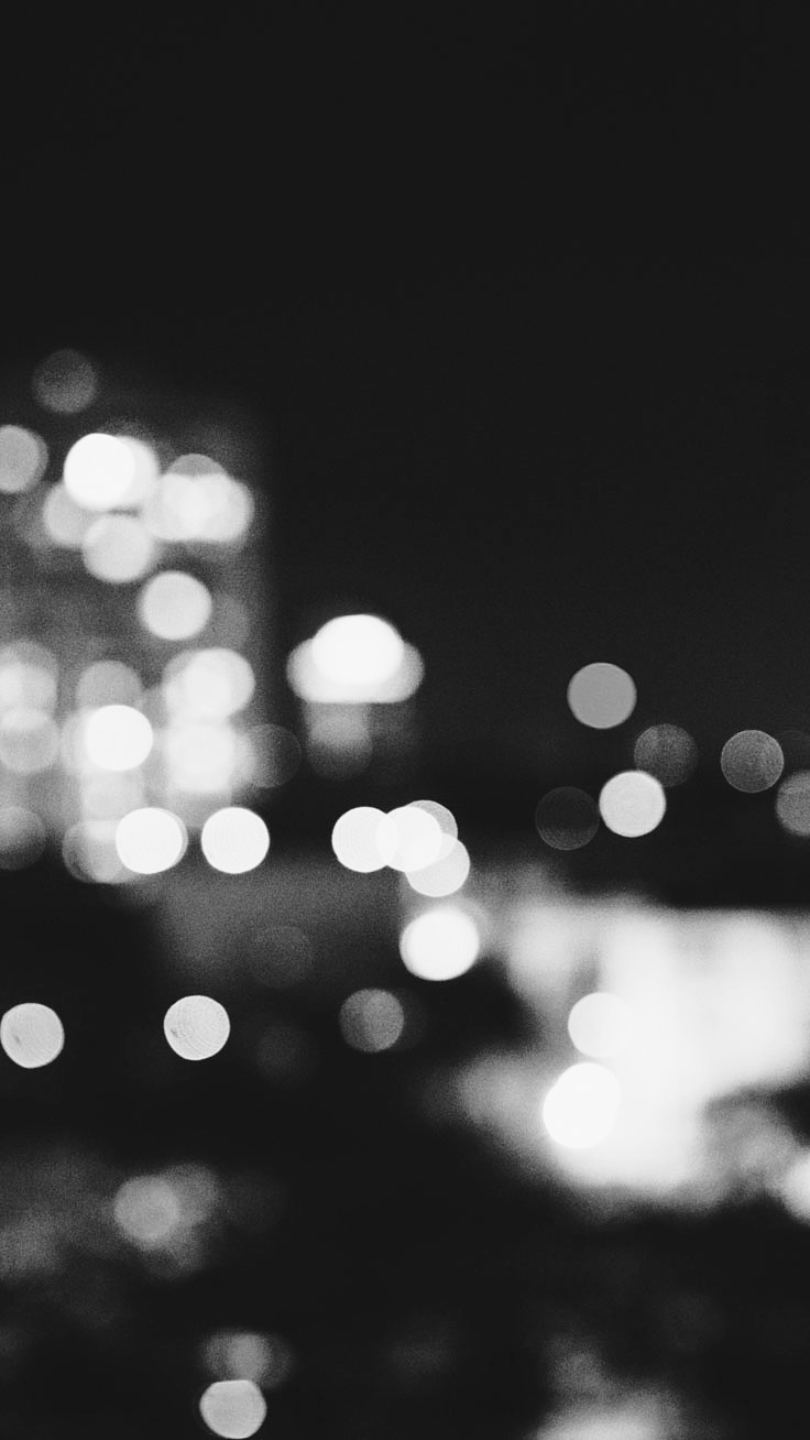 BW City Lights Preppy Original 31 Free HD IPhone 7 Plus Wallpapers