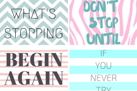 5 Cute IPhone Wallpapers To Keep You Motivated