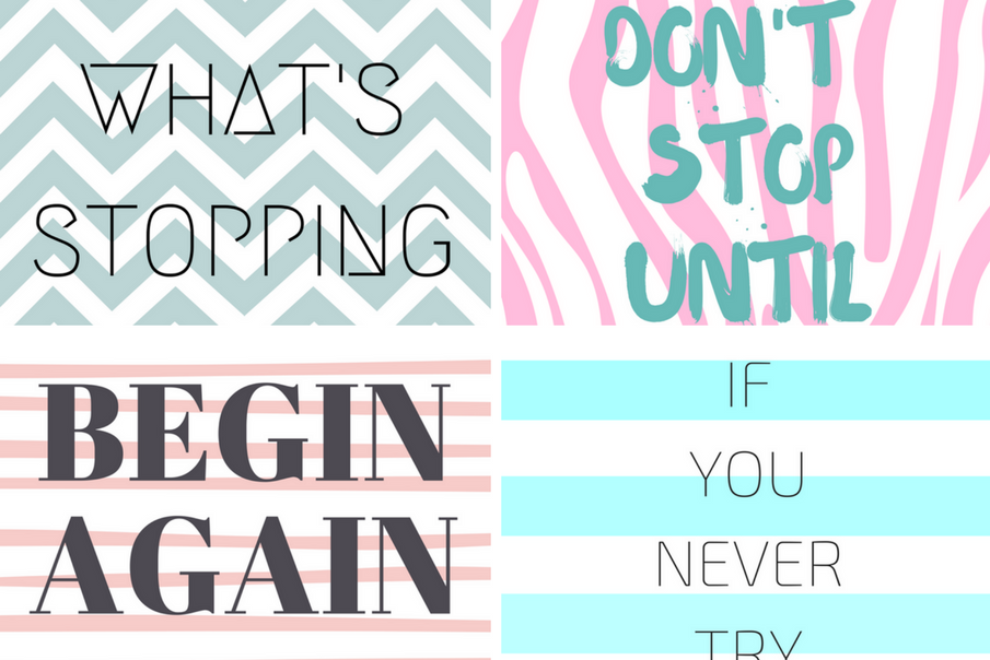 5 Cute iPhone Wallpapers To Keep You Motivated!